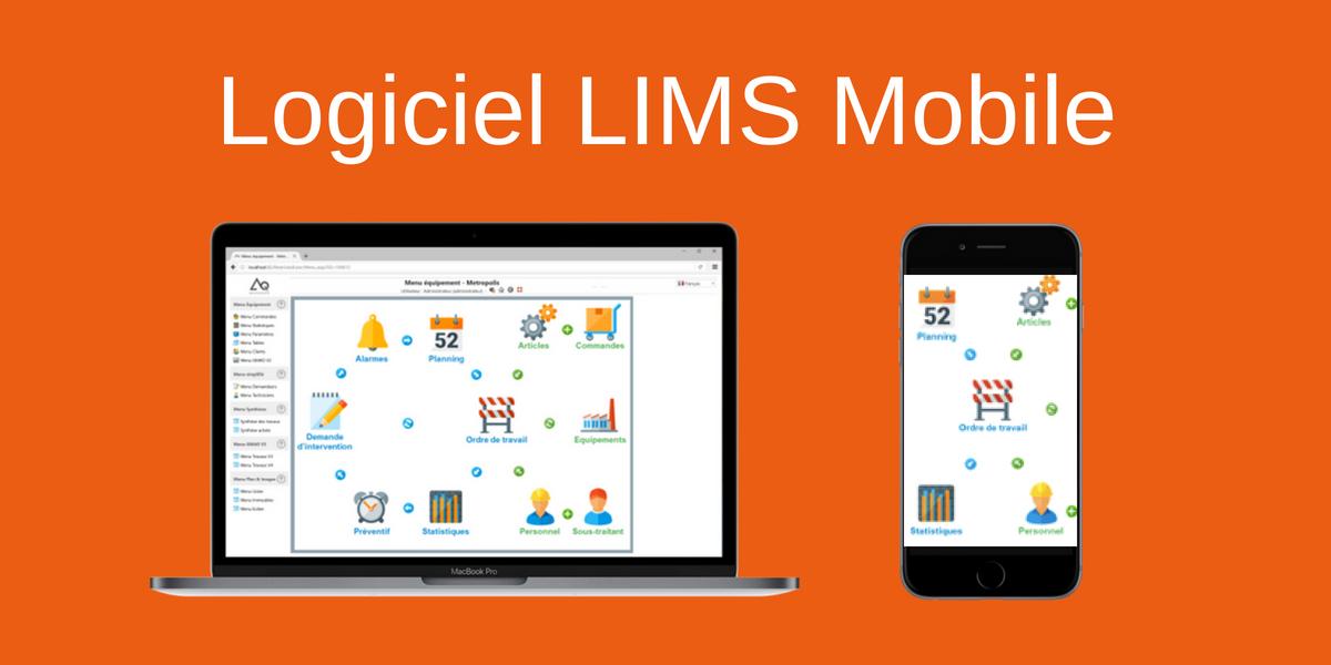 Logiciel Lims Mobile