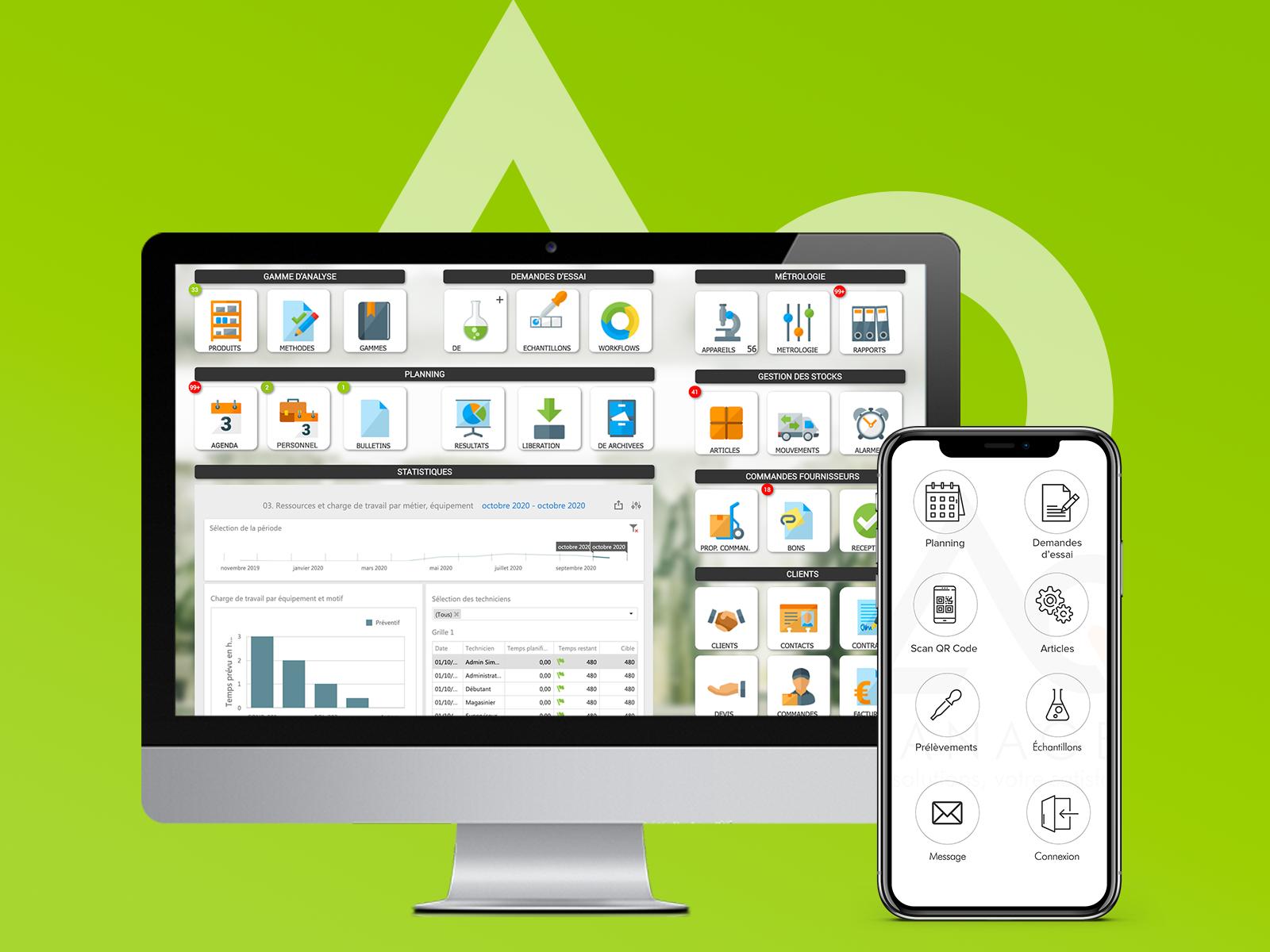 AQ Manager LIMS : un outil puissant, intuitif et facilement personnalisable pour la gestion de votre laboratoire